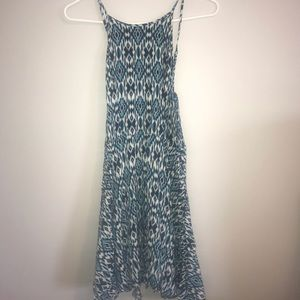 Aeropostale Dresses - AEROPOSTALE adorable blue and white dress